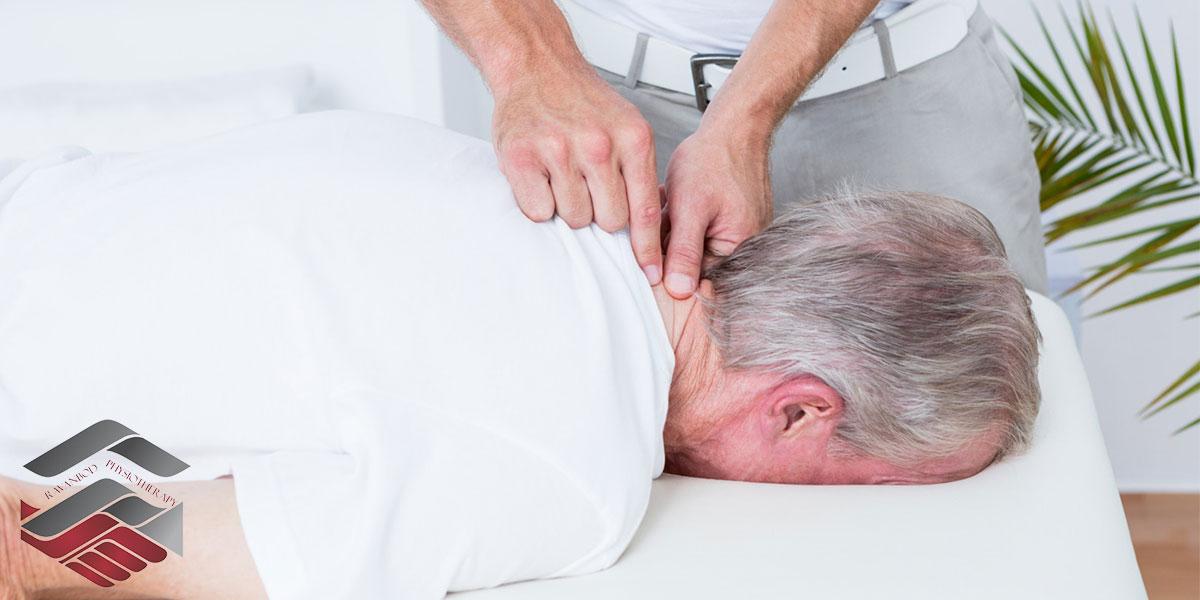 فیزیوتراپی-برای-تسکین-درد-گردن